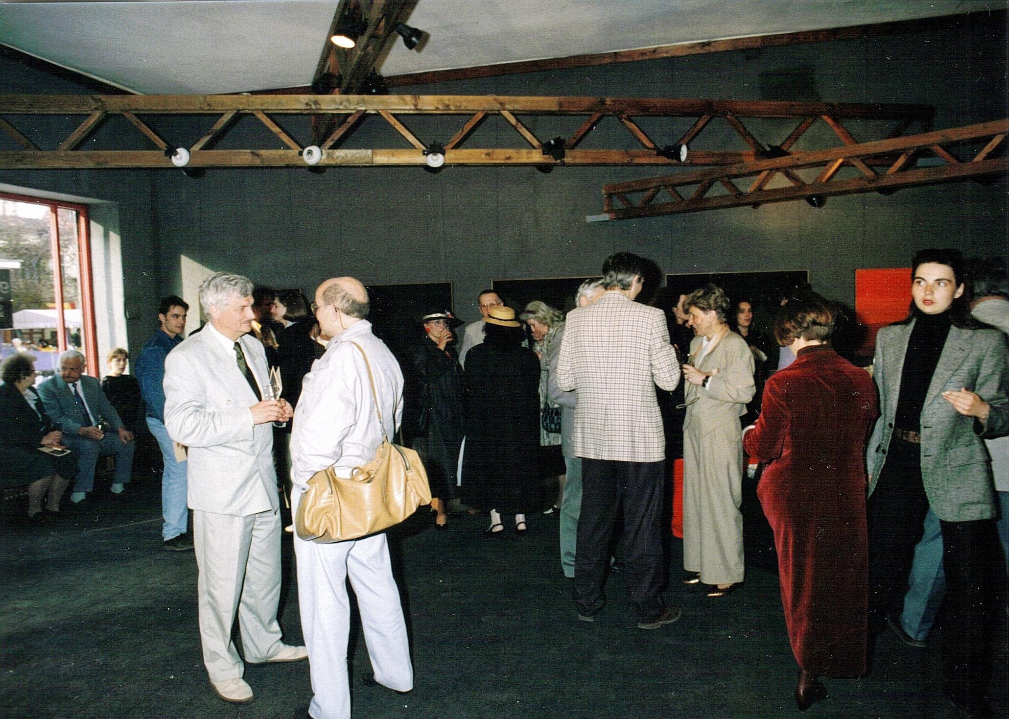Indywidualna wystawa w Galerii Triada, Sopot 1993