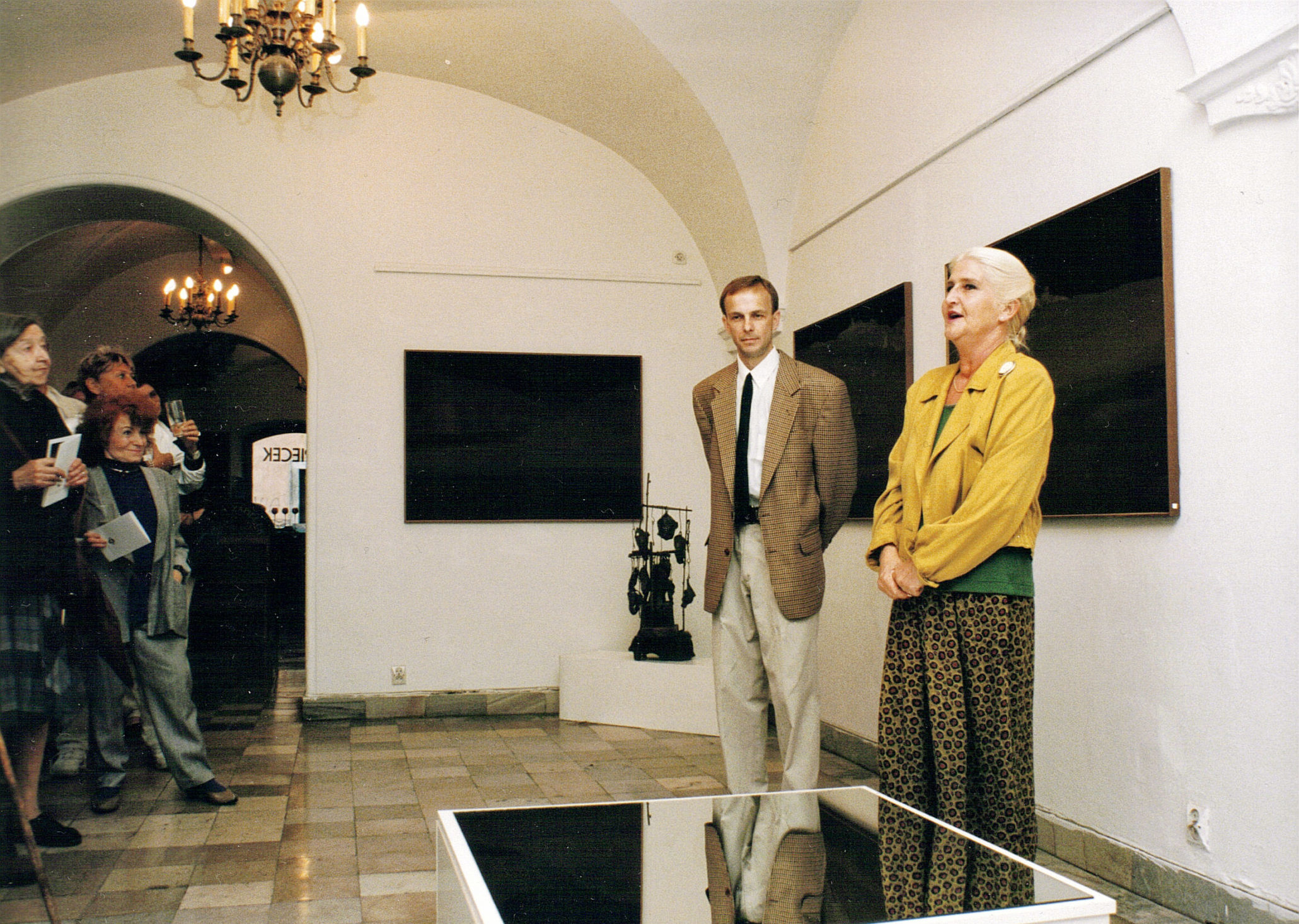 Indywidualna wystawa w Galerii Zapiecek, Warszawa 1996