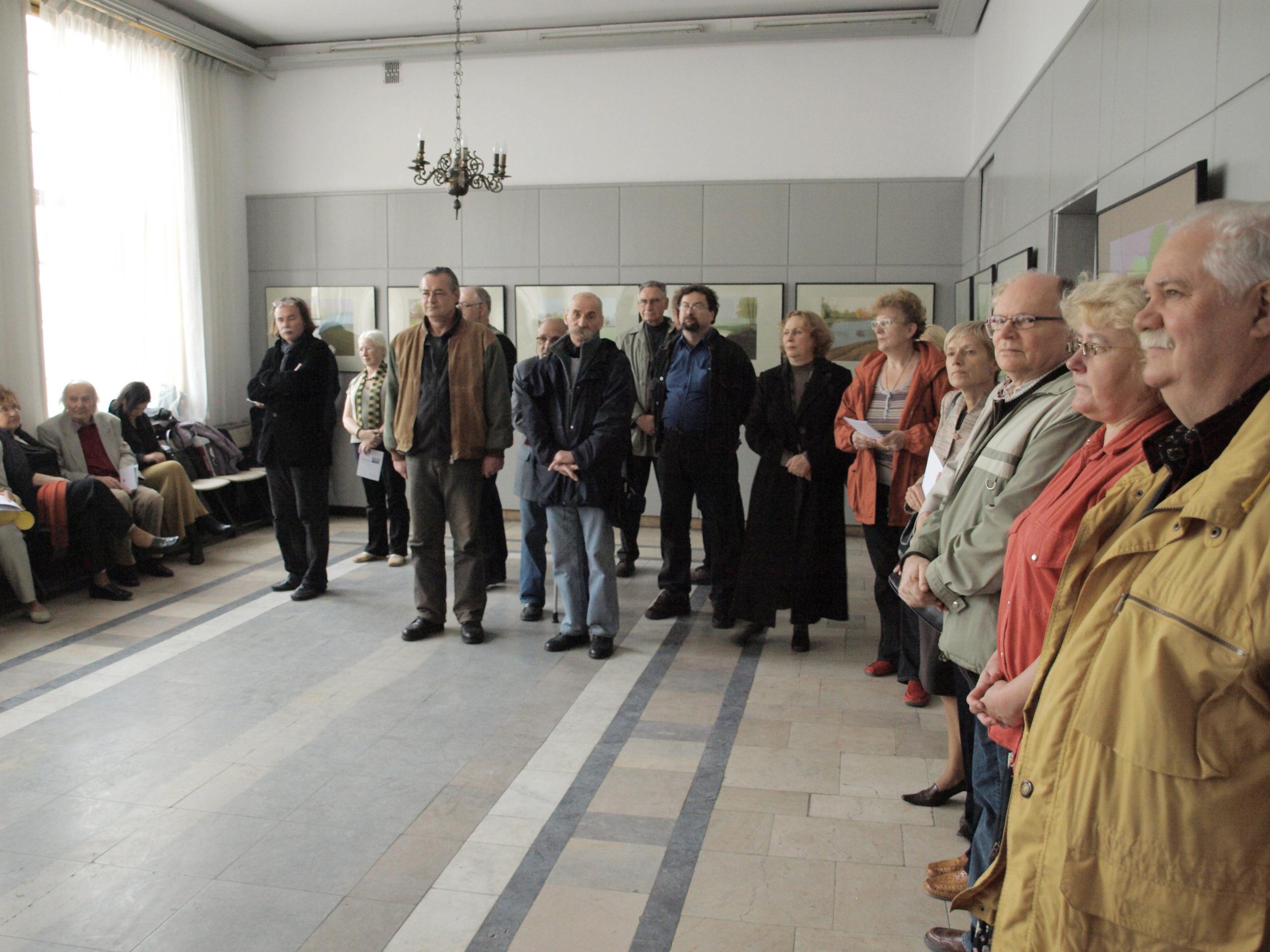 Indywidualna wystawa w GTPS, Gdańsk 2008