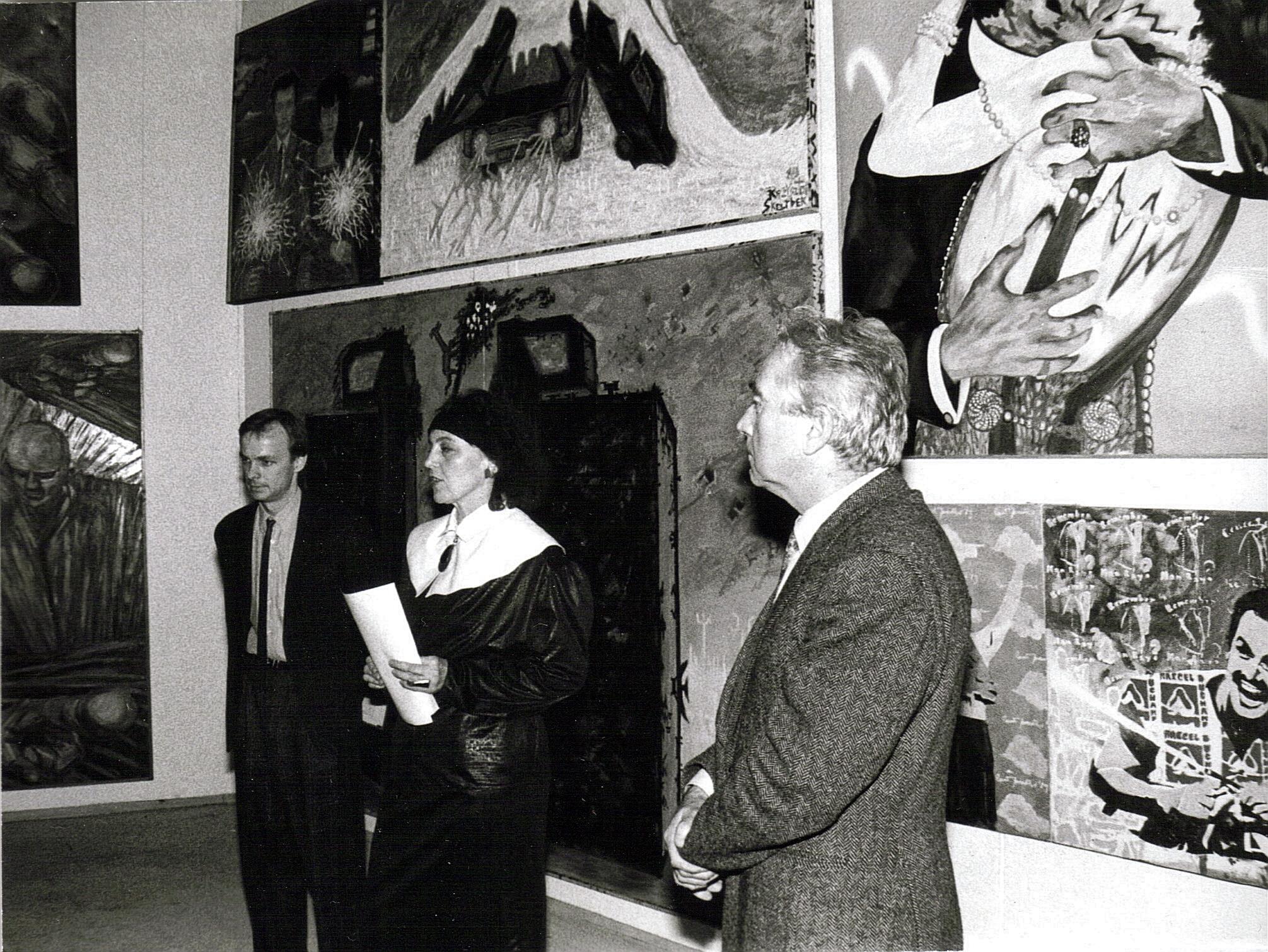 Wystawa młodego malarstwa polskiego - Krytycy o Nas, Sopot BWA 1989