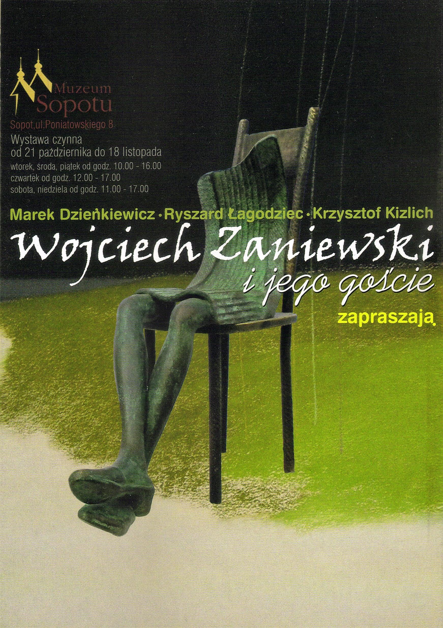 Wystawa w MMS - Wojciech Zaniewski i jego goście, Sopot 2012