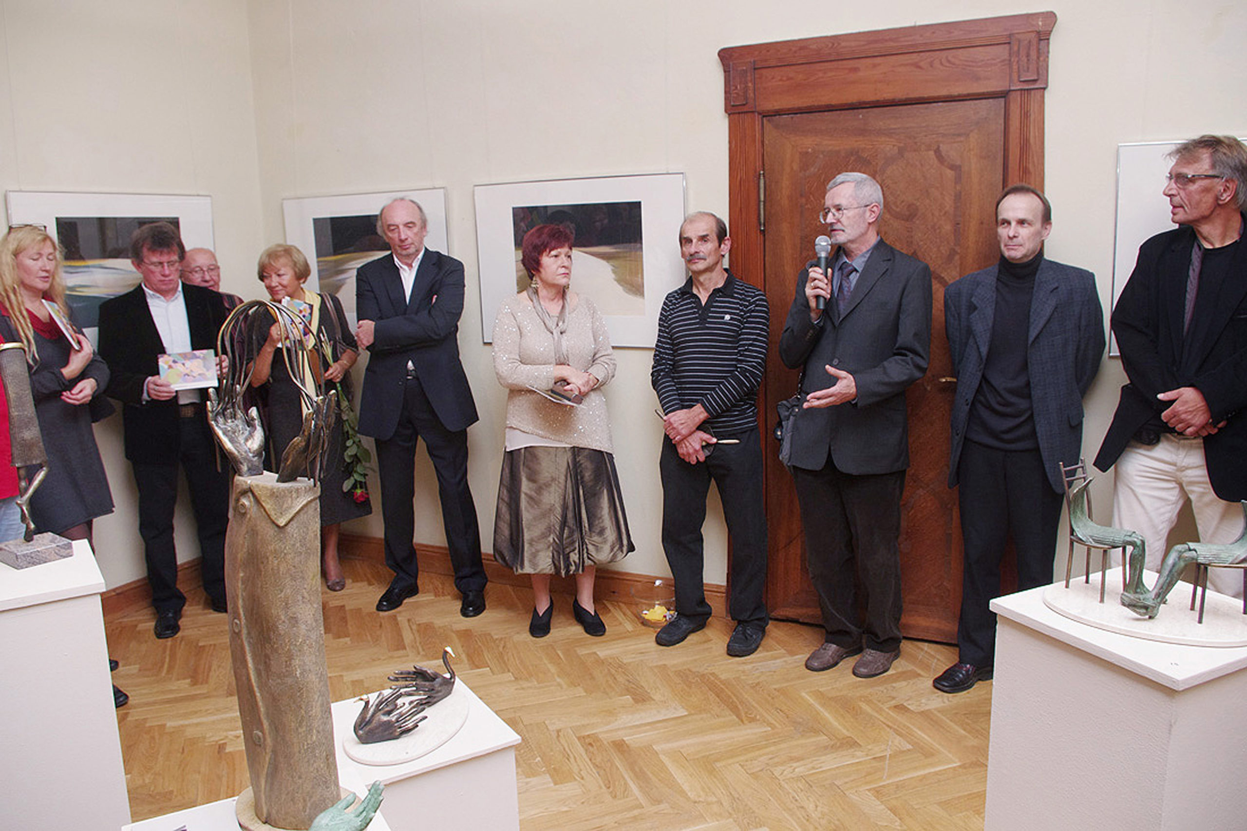 Wernisaż wystawy - Wojciech Zaniewski i jego goście MMS, Sopot 2012