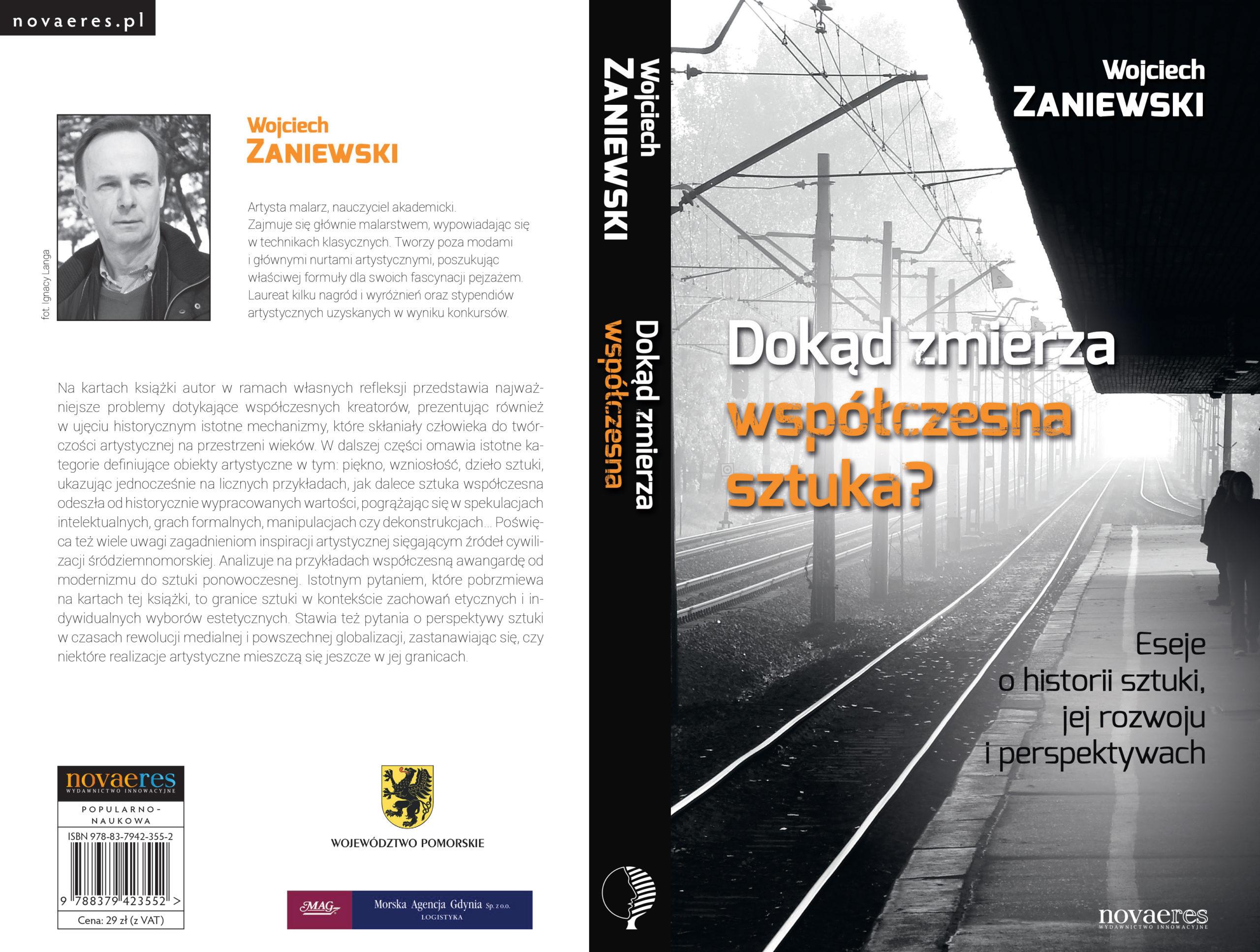 Okładka książki - Dokąd zmierza współczesna sztuka... wyd. NovaeRes, Gdynia 2014
