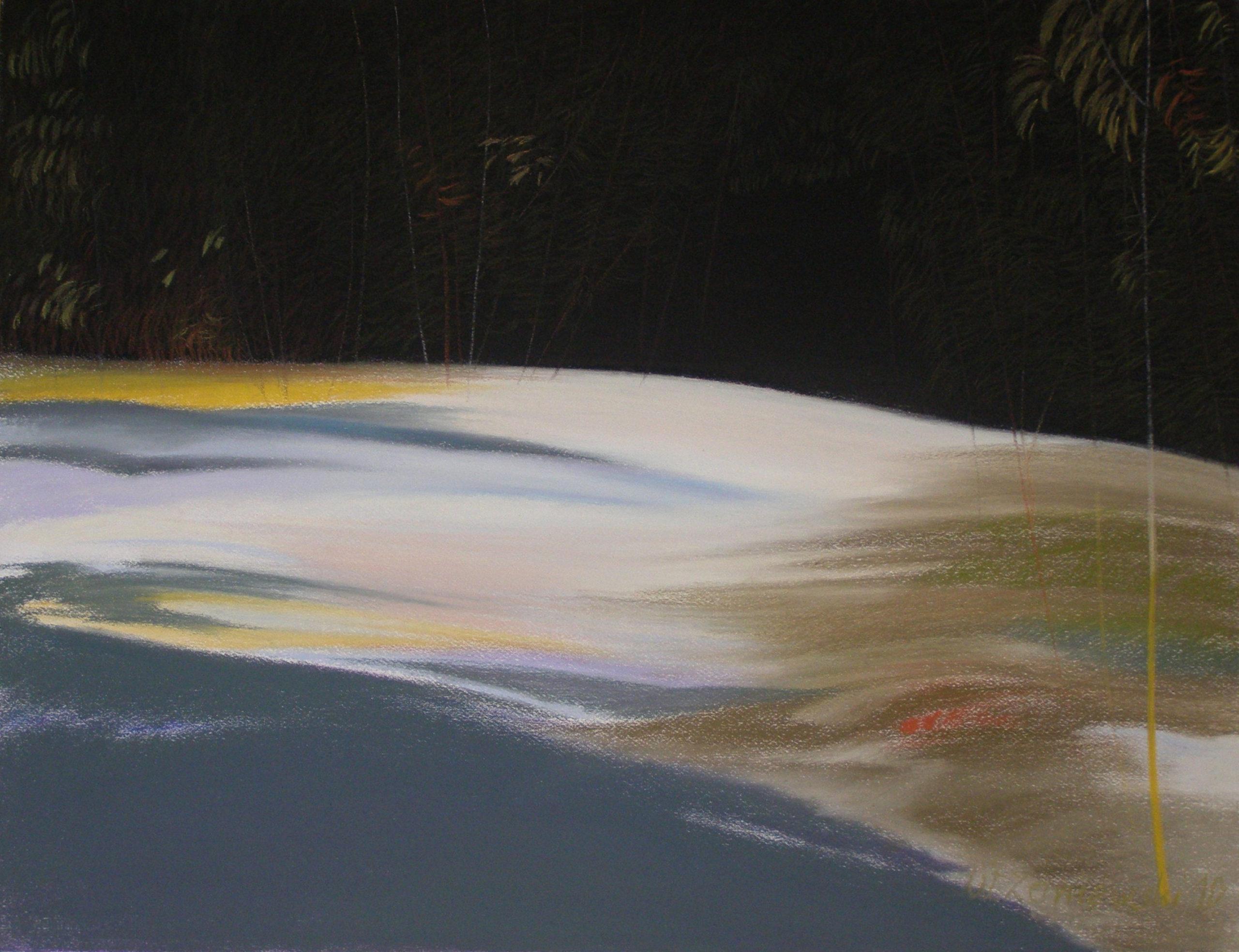 Pastel - z cyklu Wydmy 2010, 49 x 64 cm