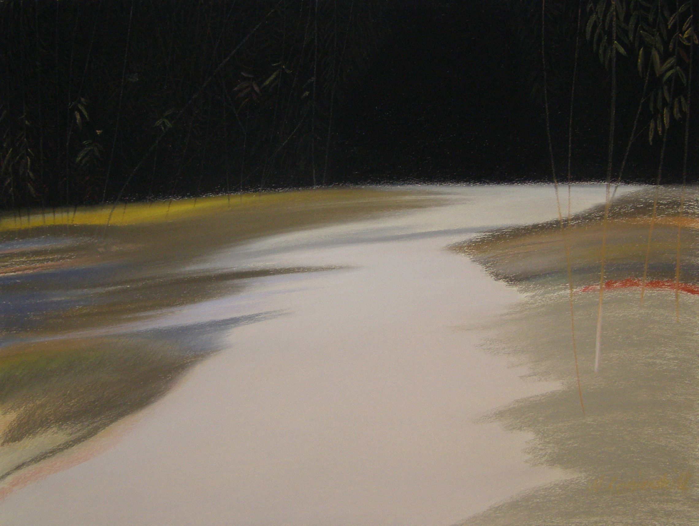 Pastel - z cyklu Wydmy 2012, 49 x 64 cm