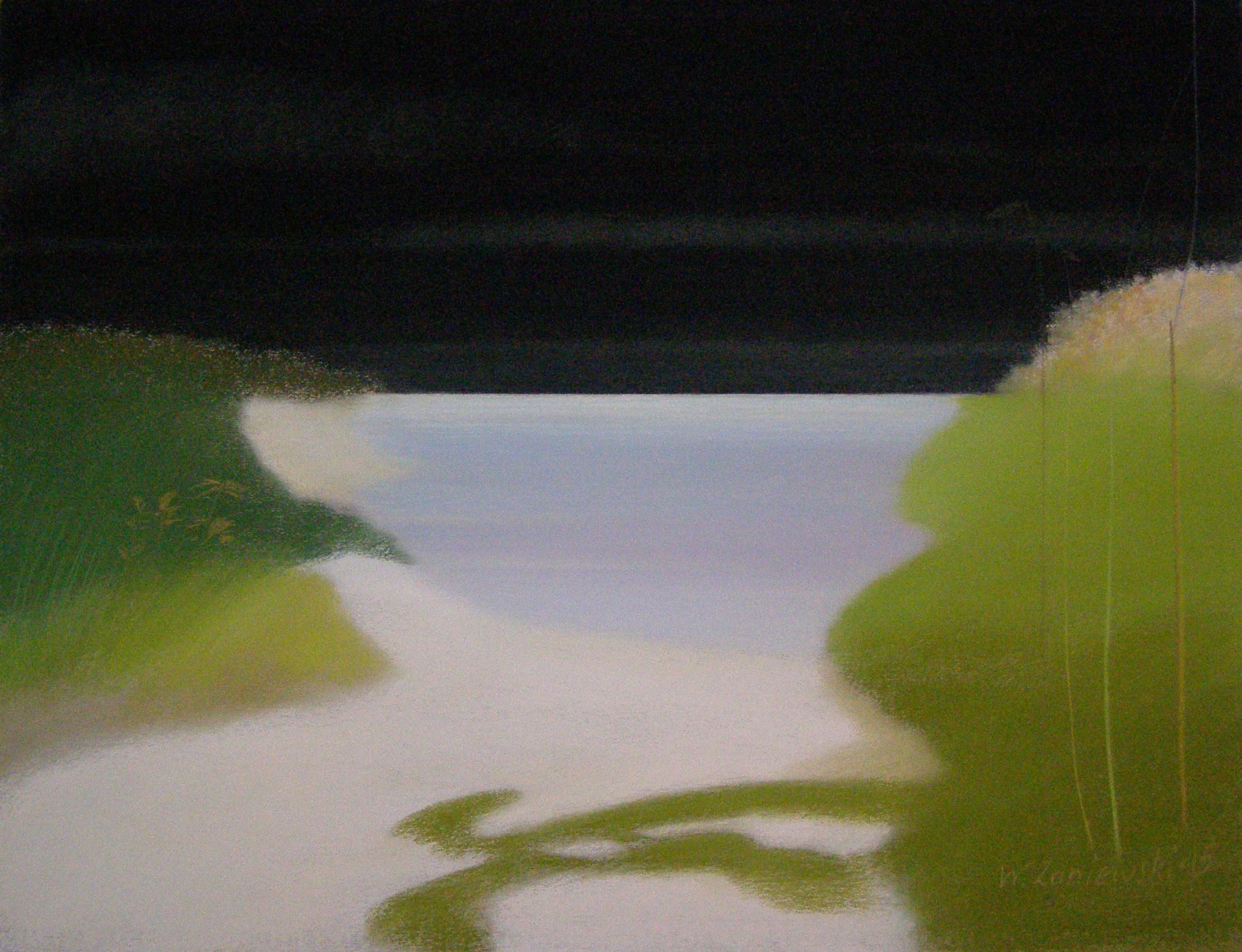 Pastel - z cyklu Wydmy 2015, 49 x 64 cm