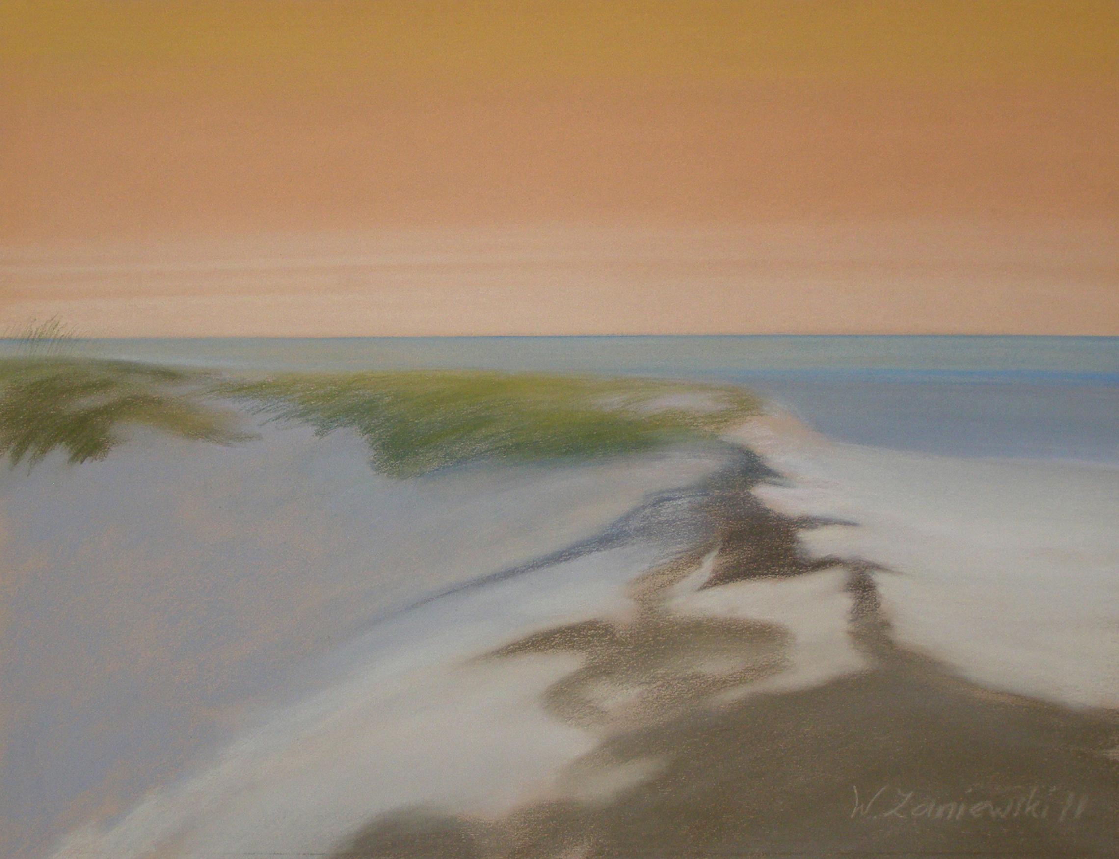 Pastel - z cyklu Wydmy 2011, 49 x 64 cm